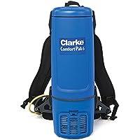 Clarke Comfort Pak 6 Quart Commercial Back Pack Vacuum with Tool Kit