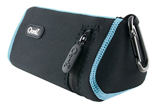 official-oontz-angle-3-bluetooth-portable-speaker-carry-case-black-with-blue-stitching-neoprene-with