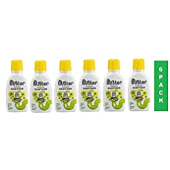 Buster Citrus Clean & Fresh Plughole Gel, Kills bad smells, 300 ml, Pack of 6