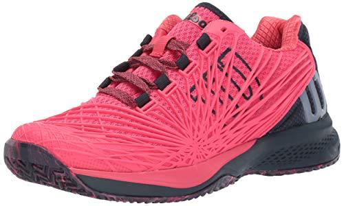 (Wilson Women's KAOS 2.0 Paradise Pink/Blueberry/Flint Stone 7.5 B US )