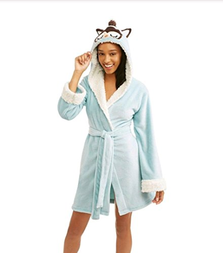 Huggable Body (Body Candy Ladies Huggable Luxe Critter Sleepwear Robe, Medium - Blue)