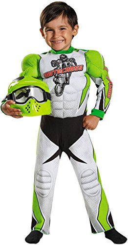 [Disguise 84003L Motocross Toddler Muscle Costume, Large (4-6)] (Dr Seuss Baby Halloween Costumes)