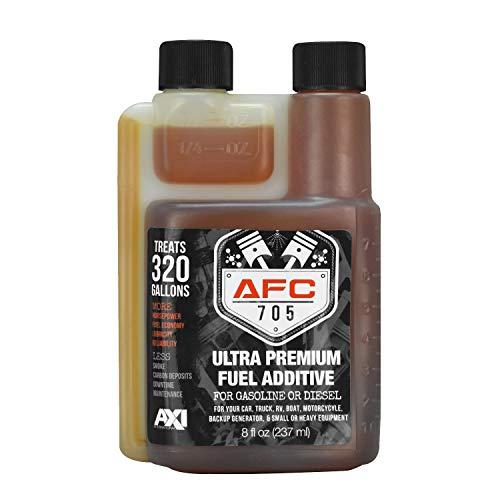 AFC-705 (8oz) Ultra Premium Fuel Additive - 320 Gallon Treatment - Enhances & Stabilizes Fuel - Complete Fuel System Cleaner - for Diesel & Gas Use