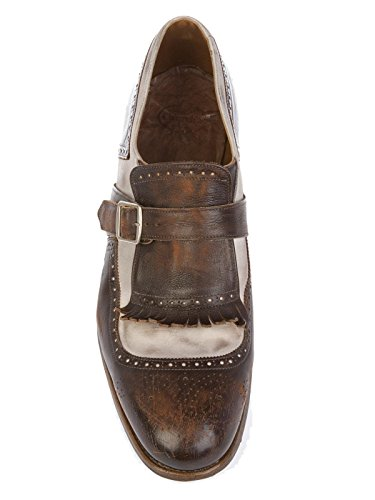 Church S Churchs Homme SHANGHAIEBONY Marron Cuir Chaussures À Boucles