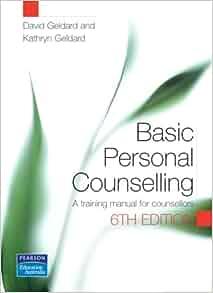 basic personal counselling geldard pdf