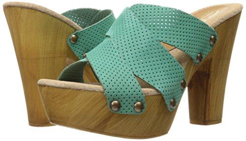 Turquoise Sbicca Sandal Adina Women's Heeled wqq0Z7I