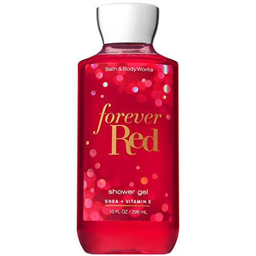 - Bath and Body Works FOREVER RED with Shea and Vitamin E Shower Gel 10 Fluid Ounce (2018 Limited Edition)