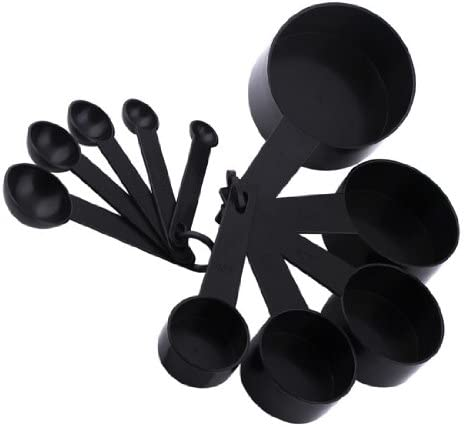 10pc New Measuring Spoons Set Kitchen Cups Baking Cooking Kitchen Plastic