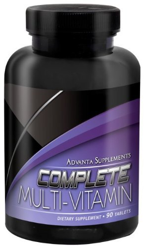 Advanta Supplements Complete Multi Vitamin tablets