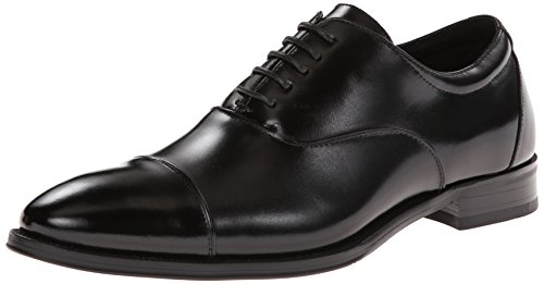 Stacy Adams Men's Kordell Cap-Toe Oxford, Black, 9.5 M US