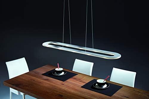 Sima LED Pendelleuchte, edelstahl BxHxT 116x1,5x23cm 2700K 3240lm