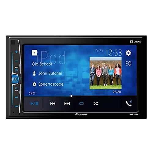 Pioneer MVH-200EX Bluetooth in-Dash Digital Media Car