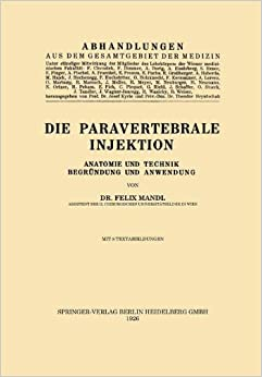 Book Die Paravertebrale Injektion