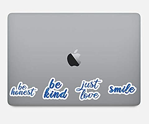 Amazon.com: Just Love Be Kinda Smile Be Honest Paquete de ...