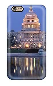 Jose Cruz Newton's Shop 5392472K27467272 Flexible Tpu Back Case Cover For Iphone 6 - Washington Dc City