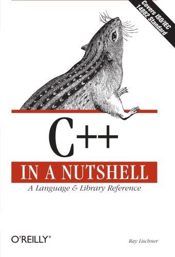 C++ in a Nutshell ISBN-13 9780596002985