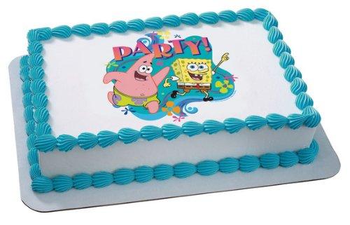 SpongeBob Birthday Cakes Amazoncom