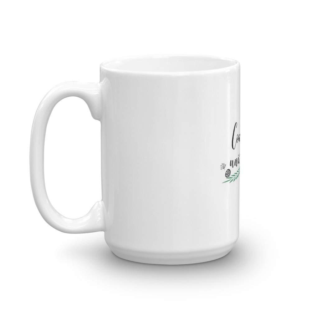 University and College Doodle Style 1 P1 Concordia University Mug 15 Oz White Ceramic