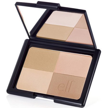 Bronzing Powder, (Golden) with mirror