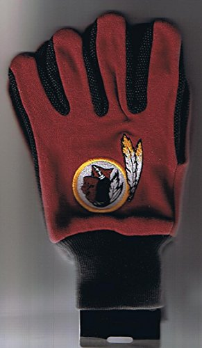 (WinCraft Washington Redskins Two Tone Gloves)
