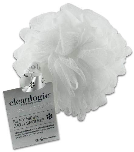 Cleanlogic - Silky Mesh Bath & Shower Sponge (Pack of 36)