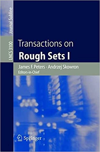 Transactions on Rough Sets I (Lecture Notes in Computer