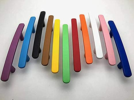 5 Colorful Knob Drawer Pulls Cabinet Door Handle Dresser Pull