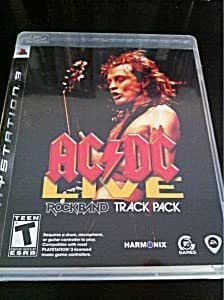 AC/DC Live Rock Band Track Pack - PlayStation 3 Standard Edition