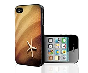 Star Fish on the Beach Hard Snap on Phone Case (iPhone 4/4s) by icecream design