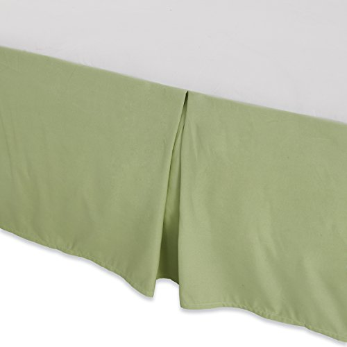 Waga Bed skirt - 90 gsm Microfiber (Apple green, Queen (60