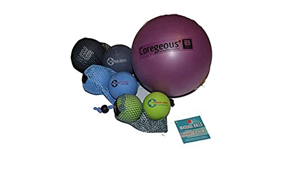 Amazon.com: Yoga Tune Up Set of Various Ball Sizes and ...