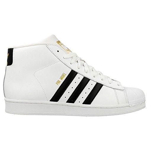 Adidas Black Montantes Ftwr White Homme Model Pro Chaussures ftwr White core 7xwq7Br