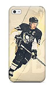 First-class Case Cover For Iphone 5c Dual Protection Cover Pittsburgh Penguins (36)