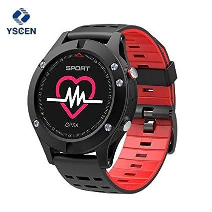 Amazon.com: yscen nuevo F5 reloj inteligente con GPS ...