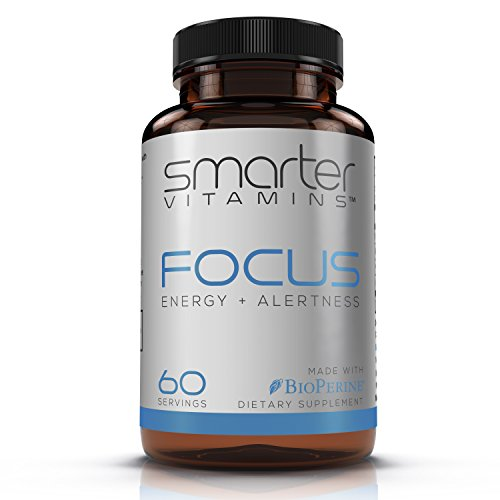 SmarterVitamins CAFFEINE+™ 200mg Caffeine Pills with 100mg L-Theanine for Energy, Focus and Clarity + MCT Oil from 100% Coconuts