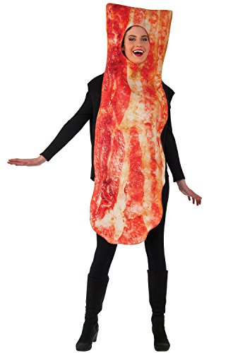 Rubie's Men's Bacon Costume, Multi, One (Costumes For Women Funny)