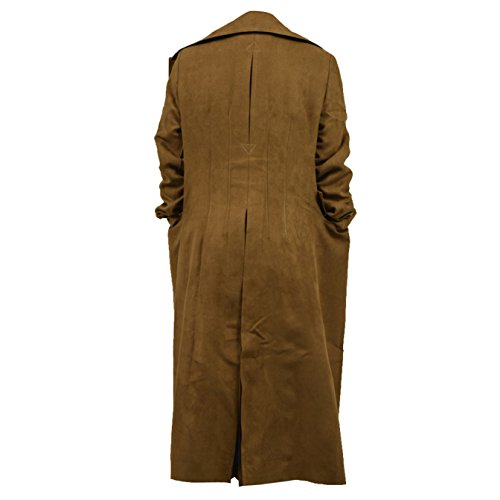 YANGGO Children's Party Halloween Outfit Cloak and Trench Coat Costume (X-Small, Brown Trench Coat) by YANGGO (Image #1)