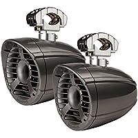 Memphis Audio 15MXA62TS / MXA62TS 15MXA62TS 6-1/2 Wakeboard Tower Speakers - Gray (Pair)