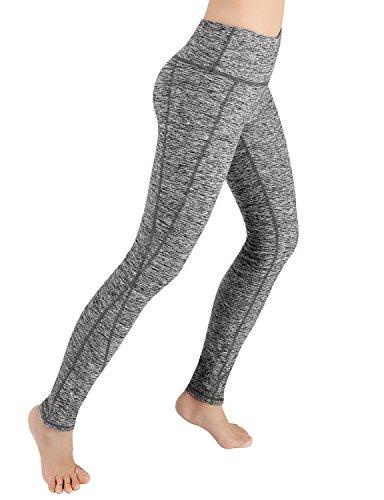 ODODOS Power Flex Yoga Pants Tummy Control Workout Leggings 4 Way Stretch Yoga Pants With - Reflex Triangle