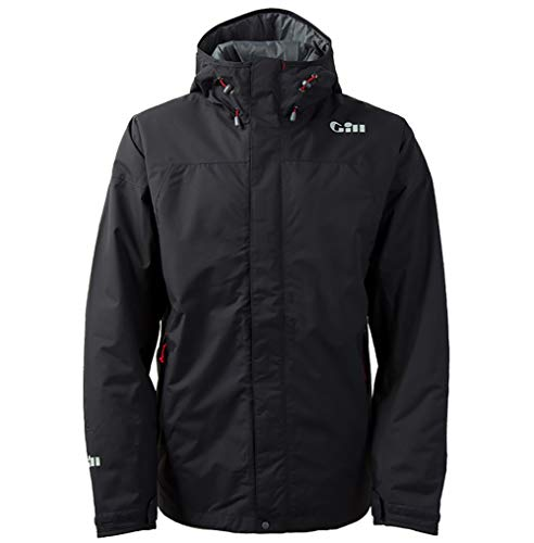 Gill Foul Weather - Gill Men's FG24 Waterproof Graphite Angler Jacket, Medium