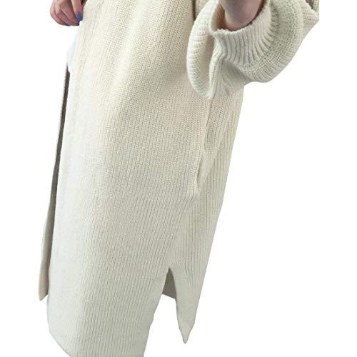 Stampa Manica Lunga Fidanzato Autunno Moda Beige Cardigan Di Forti Fiore Casuale Giaccone Cappotto A Moda Sciolto Lunga Cappotto Invernali A Giacca Maglia Ricamo Maglia Donna Taglie Grazioso Elegante pwtqUHR8xP