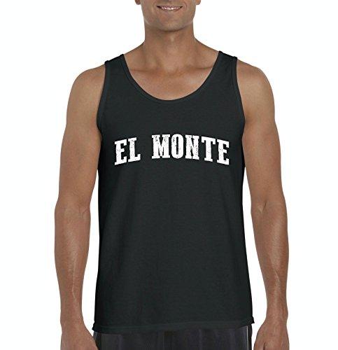 EL Monte CA California Map Flag Home Of University Of Los Angeles UCLA USC CSLA Mens - Monte Ca Del