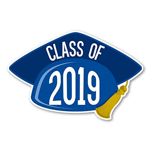 2019 Graduation Cap Blue -