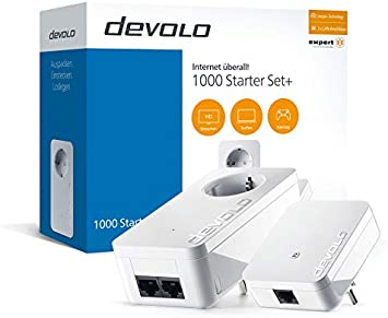 Devolo 1000 Starter Set 1000 Mbps Ethernet Lan Computers Accessories