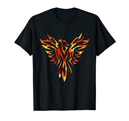 Rising Phoenix Art T-Shirt Firebird Men Women Kids Gift Idea ()