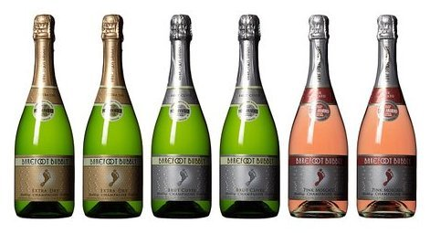 Barefoot Bubbly California Sparkling Wine Mixed Pack, 6 x 750 mL