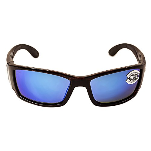 Costa Del Mar Corbina Sunglass, Blackout/Blue Mirror - Corbina Sunglasses Costa