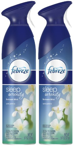 Febreze Air Effects Sleep Serenity Bedroom Mist Air Refresher - Quiet Jasmine - 9.7 oz ()