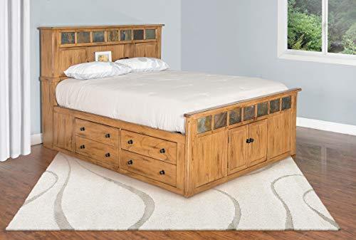 - Sunny Designs Sedona Queen Storage Bed Queen