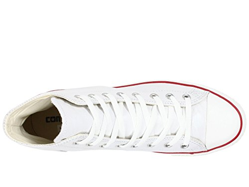 White All High Scarpe Chuck Taylor Toddler bambini Optical Star per Leather Top Converse AEXPWqW
